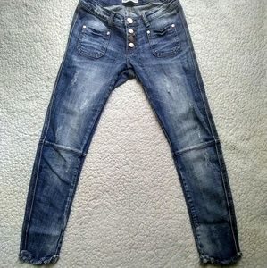 One Teaspoon super dupers cropped jeans